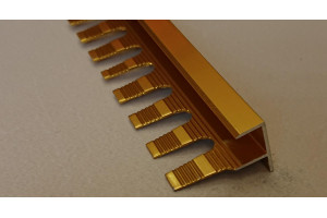Профиль алюминиевый F-образный AF-12