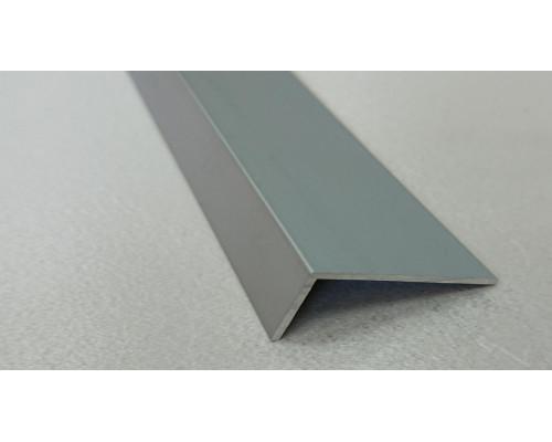 Угол алюминиевый ПА-30*15 3м (Серебро матовое)