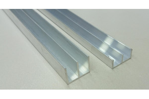 Профиль алюминиевый Ш-образный 28*22