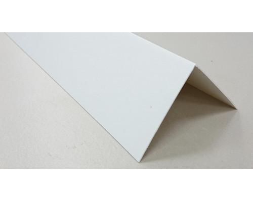 Угол ПВХ 60*60 (Белый)