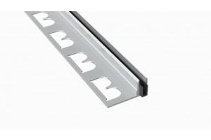 База с резиновым уплотнителем для Т-профилей Т- 8, 11, 14