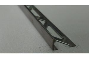 Раскладка для плитки нержавеющая сталь Г-образная ST-8