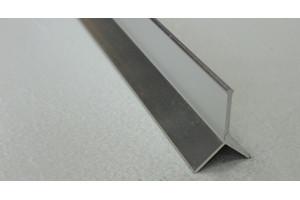 Профиль алюминиевый Y-образный закладной АY-10