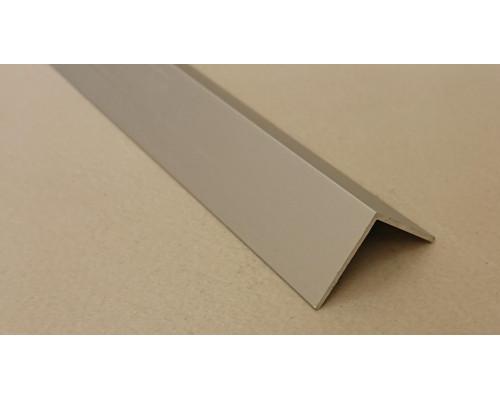 Угол алюминиевый ПА-25*25 3м (Серебро матовое)