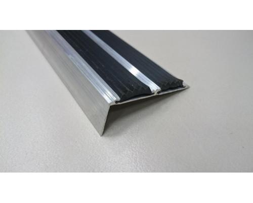 Порог угловой алюминиевый ПА-44 (Сырой, без покрытия)
