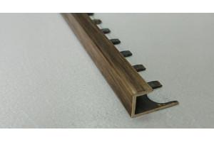 Профиль латунный П-образный ЛZП-10