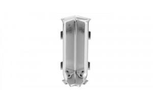 Угол внутренний алюминий для плинтуса