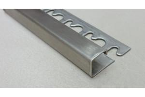 Раскладка для плитки нержавеющая сталь П-образная Progress Profiles PJQAC