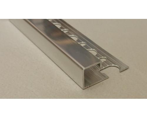 Профиль алюминиевый П-образный закладной Progress Profiles PJQBC