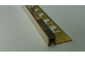 Профиль латунный П-образный Progress Profiles PRFOL 08