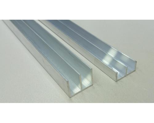 Профиль алюминиевый Ш-образный 28*12