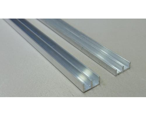Профиль алюминиевый Ш-образный 16*12