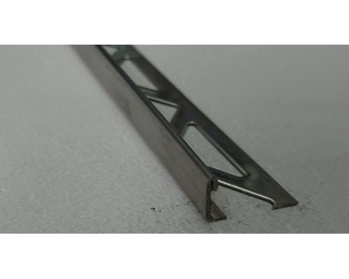 Раскладка для плитки нержавеющая сталь Г-образная ST-10