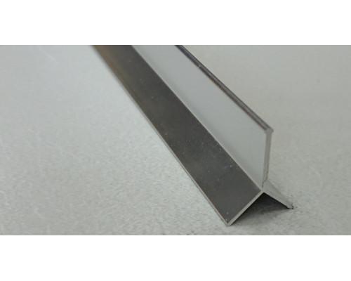 Профиль алюминиевый Y-образный закладной Progress Profiles PKLLBC
