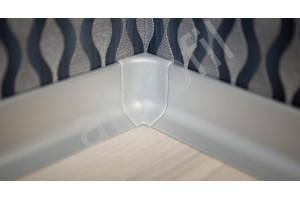 Угол внутренний ПВХ для плинтуса Q63