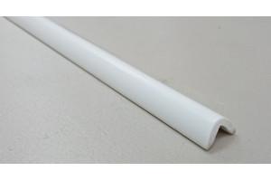 Угол ПВХ округлый 16*16 (Белый)